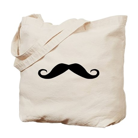 moustache mustache Tote Bag