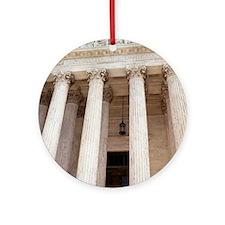 United States Supreme Court Ornament (Round)
