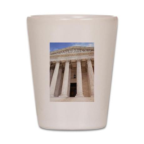 United States Supreme Court Shot Glass