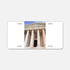 United States Supreme Court Aluminum License Plate