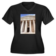 United States Supreme Court Women's Plus Size V-Ne