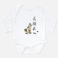 Tai Chi Chuan Long Sleeve Infant Bodysuit
