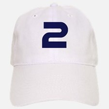 Number two 2 Baseball Baseball Cap