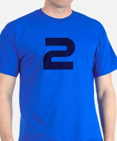 Number two 2 T-Shirt