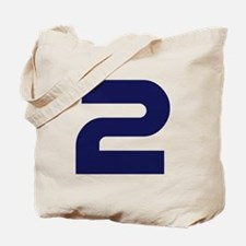 Number two 2 Tote Bag