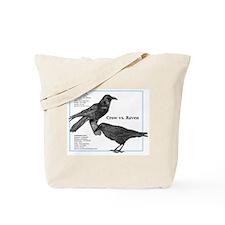 Crow vs. Raven - Tote Bag