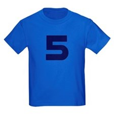 Number Five 5 T