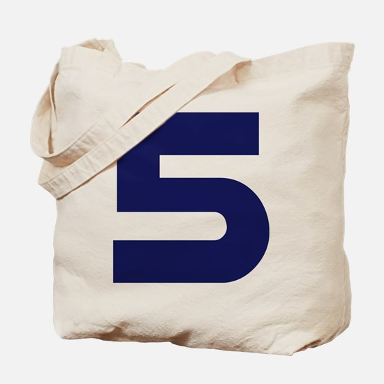 Number Five 5 Tote Bag