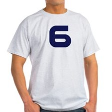 Number six 6 T-Shirt