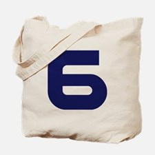Number six 6 Tote Bag