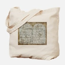 Ten Commandments Tote Bag