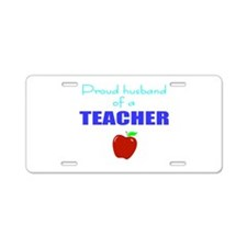 education/occupations Aluminum License Plate