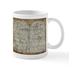 Ten Commandments 10 Laws Desi Mug