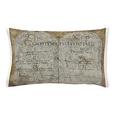 Ten Commandments 10 Laws Desi Pillow Case