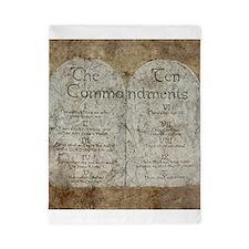 Ten Commandments 10 Laws Desi Twin Duvet