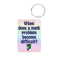 When is a math problem difficult? Keychain