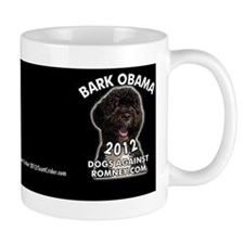 "Dogs Against Romney ""Bark Obama"" Mug"