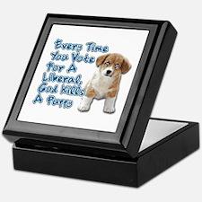 God Kills A Puppy Keepsake Box