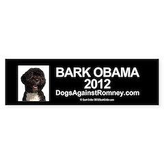 "Official DAR""Bark Obama"" Bumper Bumper Sticker"