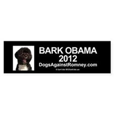 "Official DAR""Bark Obama"" Bumper Bumper Sticker"