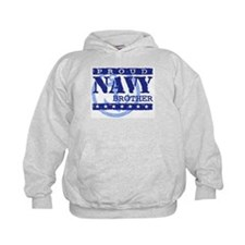 Proud Navy Brother Hoodie