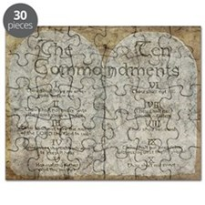 Ten Commandments 10 Laws Desi Puzzle