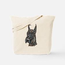 darkbrindle.png Tote Bag