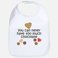 Chocolate2 Baby Bib