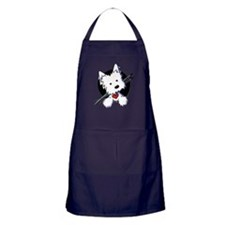 Artist Helper Westie Apron (dark)