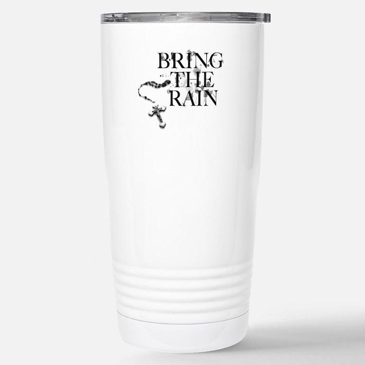 Bring The Rain Stainless Steel Travel Mug