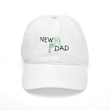 New Dad GREEN Baseball Cap