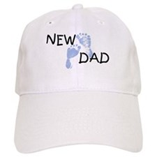 New Dad BLUE Baseball Cap