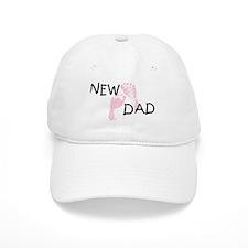 New Dad PINK Baseball Cap