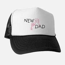 New Dad PINK Trucker Hat