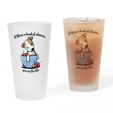 Give Me The Pits Drinking Glass