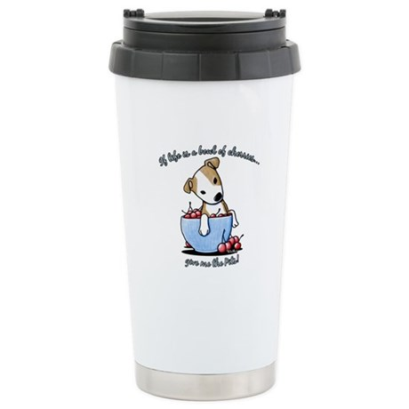 Give Me The Pits Stainless Steel Travel Mug