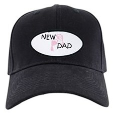 New Dad PINK Baseball Cap