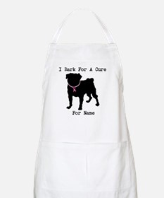 Pug Personalizable Bark For A Apron
