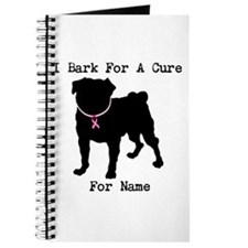 Pug Personalizable Bark For A Journal
