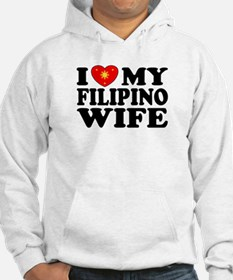 I Love my Filipino Wife Hoodie