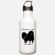 Pomeranian Personalizable I Bark For A Cure Stainl