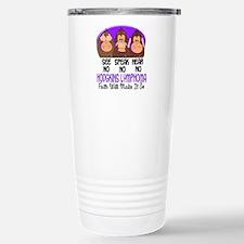See Speak Hear No H Lymphoma 1 Travel Mug
