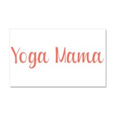 Yoga Mama Car Magnet 20 x 12