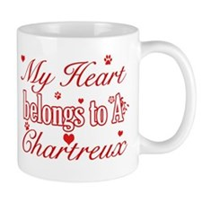 Cool Chartreux Cat Breed designs Small Mug