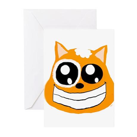 Orange Cat Greeting Cards (Pk of 20)