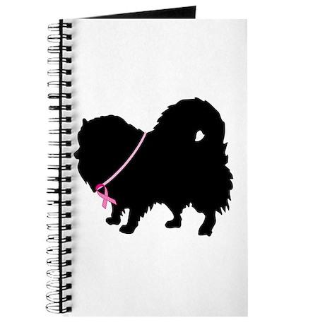Pink Ribbon Pomeranian Journal