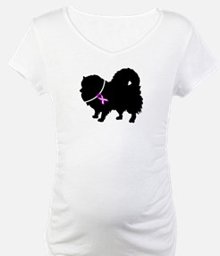 Pomeranian Breast Cancer Supp Shirt
