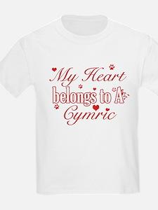 Cool Cymric Cat Breed designs T-Shirt