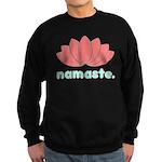 Namaste Lotus Sweatshirt (dark)
