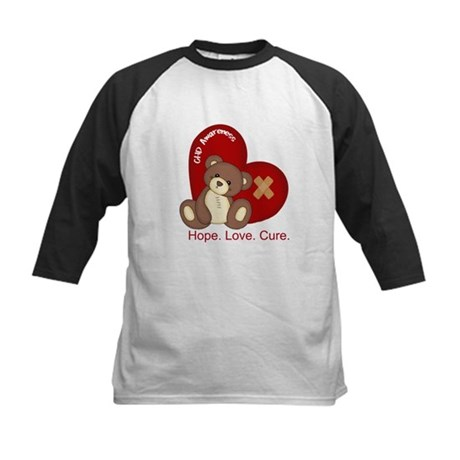 Hope. Love. Cure. for CHD Awareness Kids Baseball